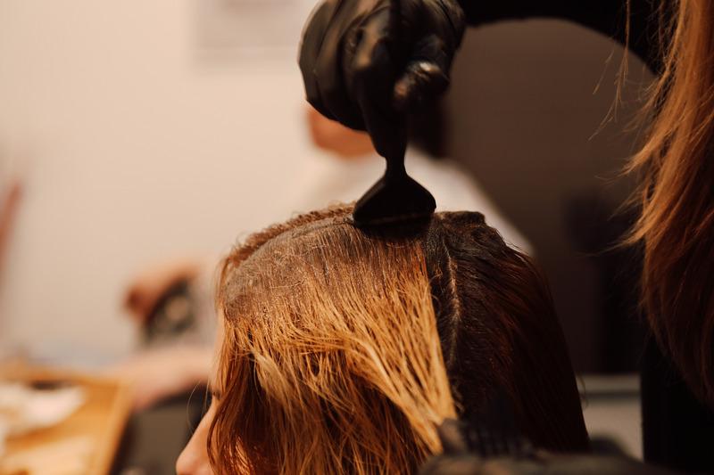 pintar o cabelo com mega hair