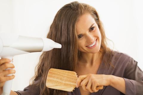 escova de cabelo perfeita